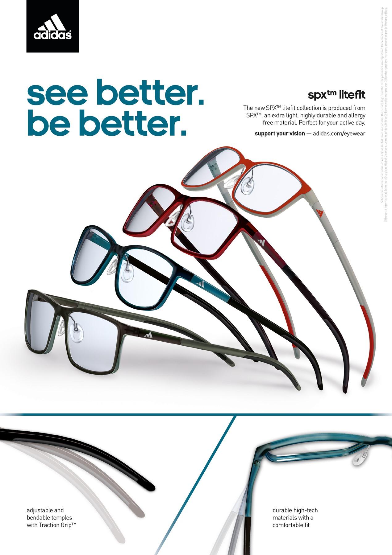 agenda Boquilla origen  Adidas eyewear - Eyewise Optometrists